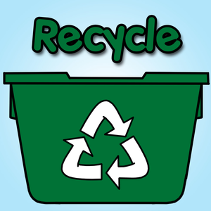 Clipart Of Recycle Bin Image
