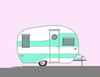 Cartoon Camper Clipart Image