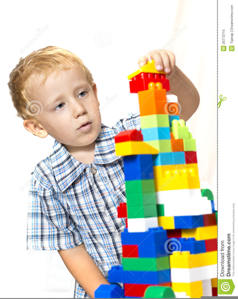 Clipart Children Playing Toys Free Images At Clker Com Vector
