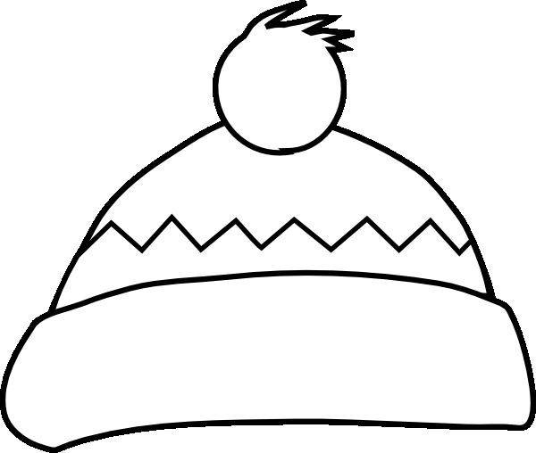 white winter hat clip art at clkercom vector clip art
