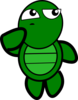 Turtle Thinking Clip Art