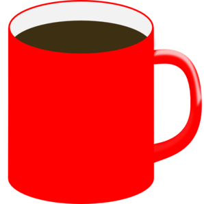Red Mug, Brown Liquid ...