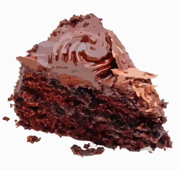 Picture Of Chocolate Cake Slice