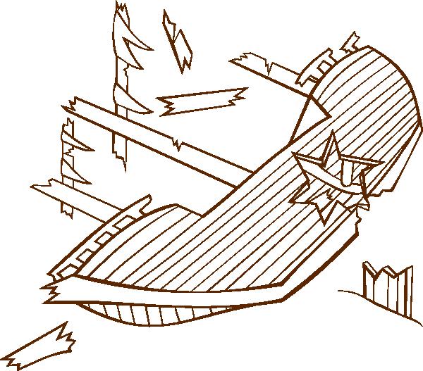 Shipwreck Clip Art at Clker
