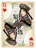 Queen Of Hearts Playing Card Clipart Image