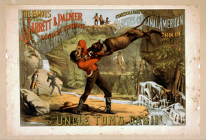 The Famous Jarrett & Palmer London Company Consolidated With Slavin S Original American Troupe In Uncle Tom S Cabin Image