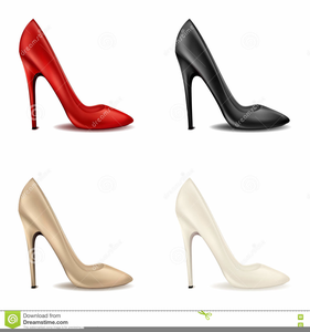 High Heeled Clipart Image