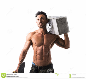 Clipart Muscles Man Image