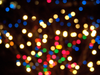 Out Of Focus Christmas Lights Image