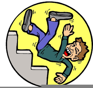 Free Clipart Falling Down Stairs Image