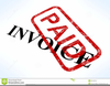 Invoice Paid Clipart Image