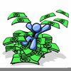 Man With No Money Clipart Image