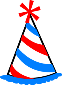 party hat clip art at clker com vector clip art online birthday hat clip art blue gold birthday hat clip art free