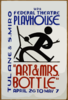 Art & Mrs. Bottle  Wpa Federal Theatre Playhouse, Tulane & S. Miro Arpil 26 To May 7. Clip Art