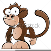 Free Clipart Monkey And Banana Image
