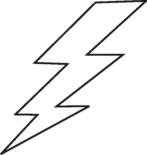 lightning black bolt clip art at clker com