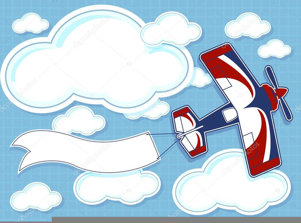 Airplane Cartoons Clipart Free Images At Clker Com Vector Clip