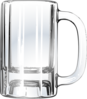 Empty Beer Mug Clip Art