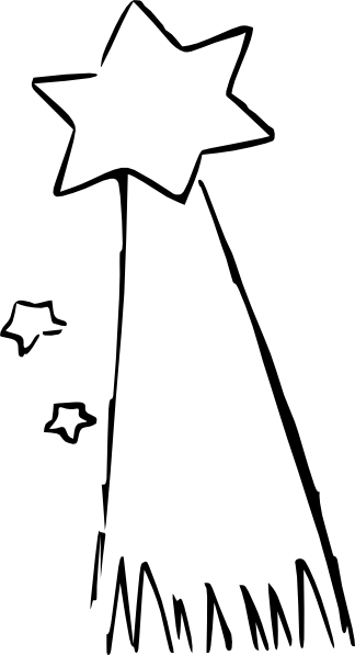 Banana Clip Art Black And White Shooting Star Cartoon ...