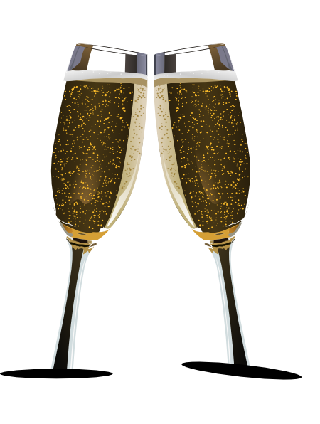 Free Image Of Glass Of Champagne