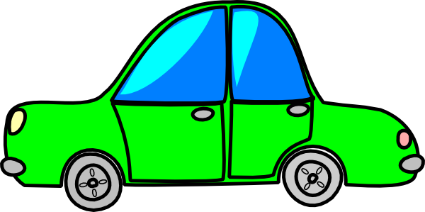 Car Green Cartoon Transport Clip Art At Clker Com Vector