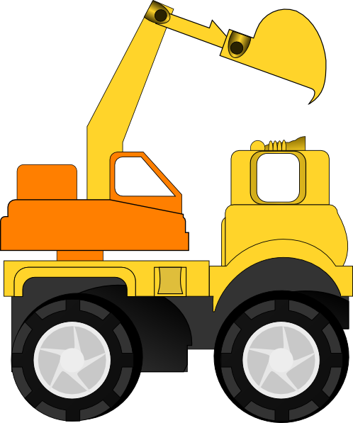 Excavator Clip Art At Clker.com