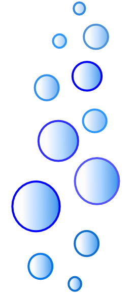 More N More Blue Bubbles Clip Art at Clker.com - vector ...