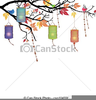 Chinese Lanterns Clipart Image