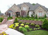 Luxury And Classic House Landscaping Ideas Image