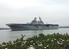 Uss Boxer (lhd 4) Pulls Into San Diego Harbor Image