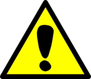 Attention Sign Clip Art