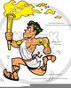 Ancient Greek Olympic Clipart Image