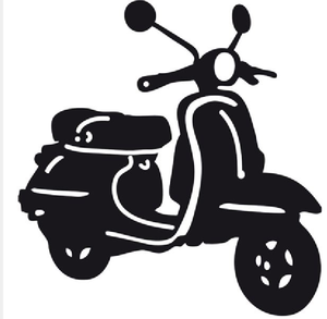 scooter free images at clker com vector clip art online royalty free public domain vector clip