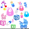 Free Baby Pacifier Clipart Image