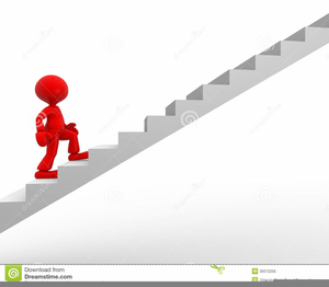 man climbing steps clipart free images at clker com vector clip