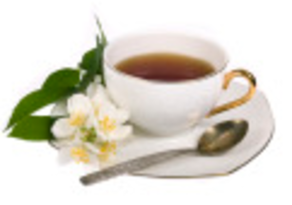 Cups tea white flower ne free images at clker vector clip download this image as mightylinksfo