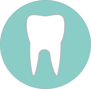 Tooth In Circle Clip Art