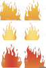 Free Clipart Flames Image