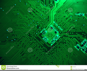 Printed Circuit Board Clipart Image
