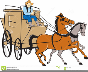 Horse And Carriage Clipart Free Images At Clker Com Vector Clip