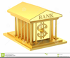 Free Clipart Bank Building Image