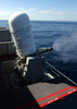 A Close-in Weapons System (ciws) Mount Uses Live Rounds During A Pre-aim Calibration Fire (pacfire) Aboard Uss Harry S. Truman (cvn 75). Image