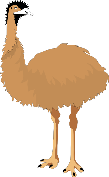 emu clip art at clker com vector clip art online clipart eagle black and white clipart eagle nest