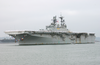 Uss Bonhomme Richard (lhd 6) Pulls Into San Diego Harbor Image