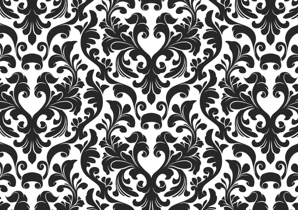 Damask Black And White Wallpaper Free Images At Clker