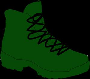 army boot clip art at clkercom vector clip art online
