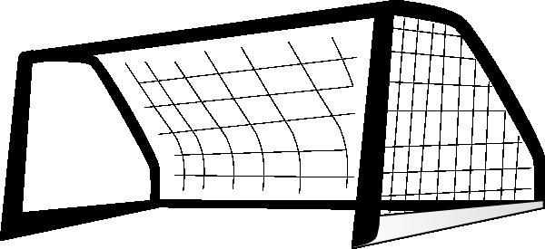 Goal Post Enlarged Black Clip Art At Clker Com Vector Clip Art Online Royalty Free Public Domain