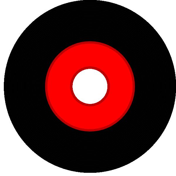 Black Vinyl Record Clip Art at Clker.com - vector clip art ...