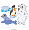 Clipart Slipping On Ice Image