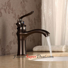 Antique Oil Rubbed Bronze Finish Single Handle Centerset Bathroom Sink Faucet Image